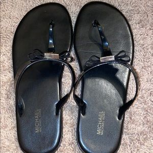 Selling Michael Kors flip flops